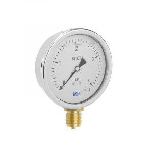manometro glicerina o63mm 1/4 vertical