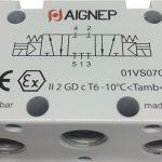 Electroválvula 5V 3P CC Aignep esquema