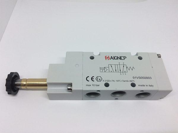 Electroválvula 5V/2P monoestable Aignep