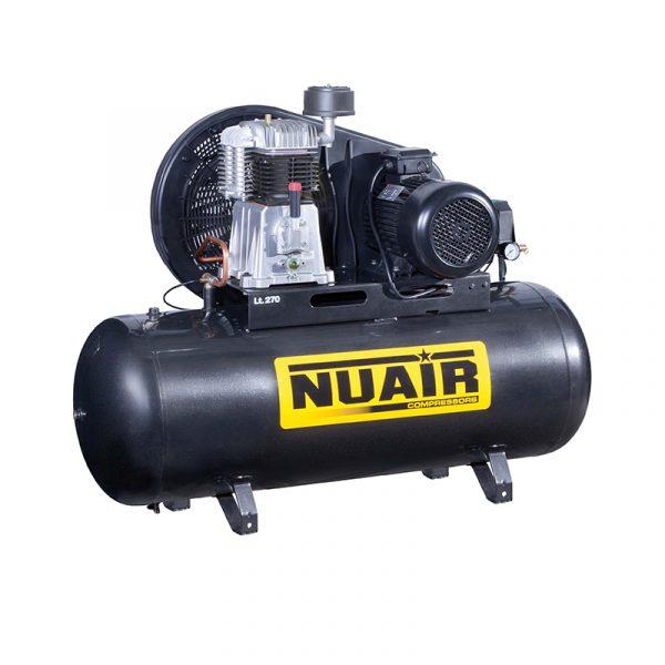 compresor pistón 5,5hp 270lts Nuair