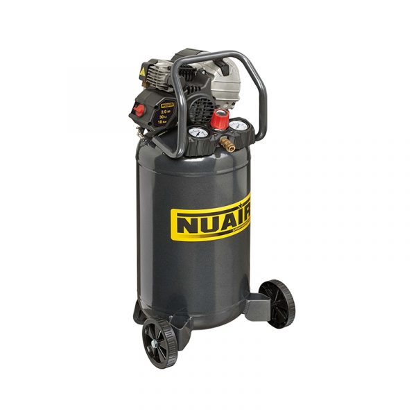 compresor piston vertical 2hp 30lts Nuair