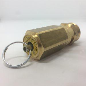 Válvula de seguridad tarado fijo