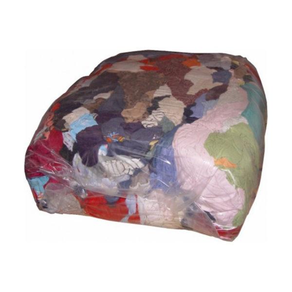 Bala de trapos 25kg color algodón